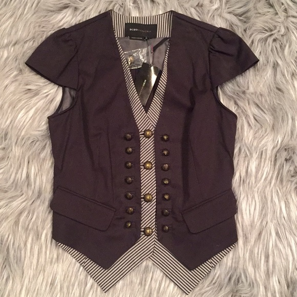 Vest with Cap Sleeves